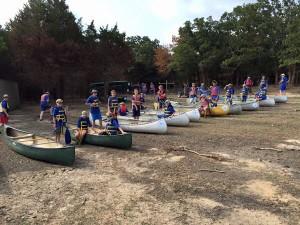 August Canoe Trip